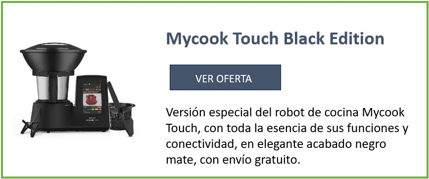 mycook Touch black edition. ver oferta