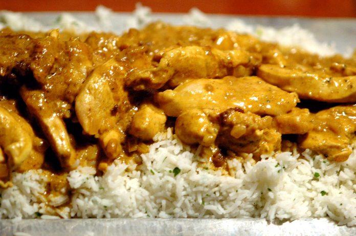 pollo curry: proteínas recetas dieta