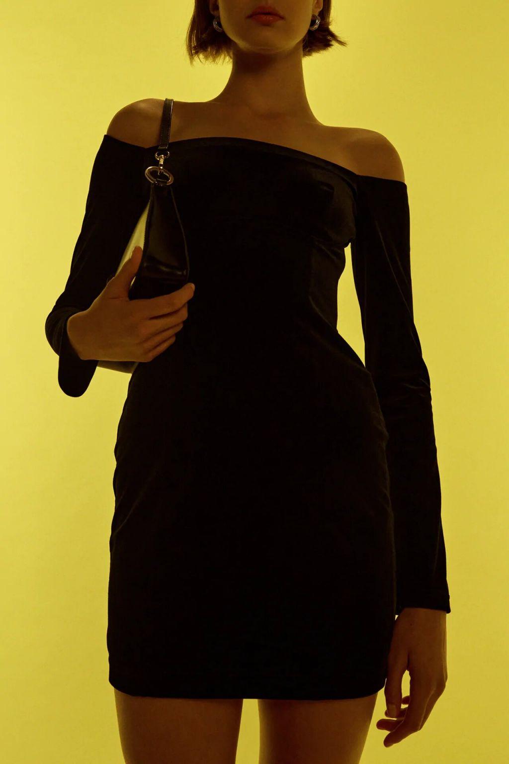 vestido mini trciopelo zara