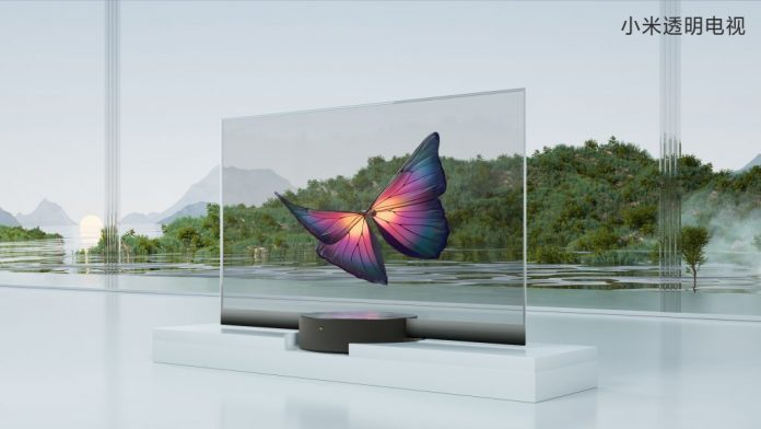 Xiaomi Mi TV LUX, TV transparente