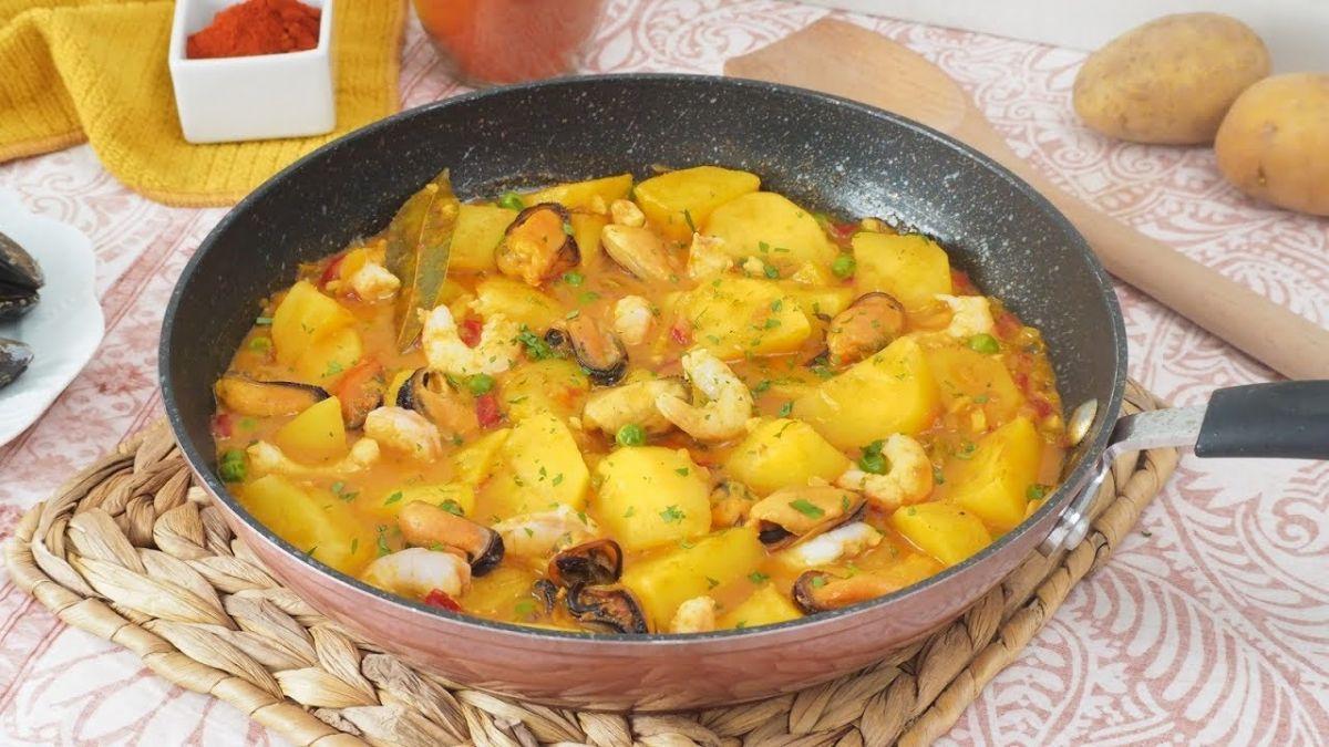 Patatas a la marinera: este desconocido plato es sinónimo de éxito