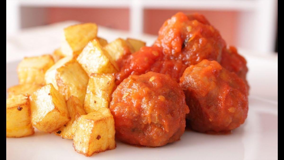 albondigas con patatas