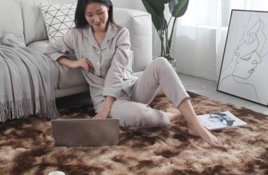 alfombra degradada