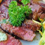carne descongelada en el horno