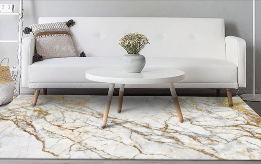 estampado mármol alfombra