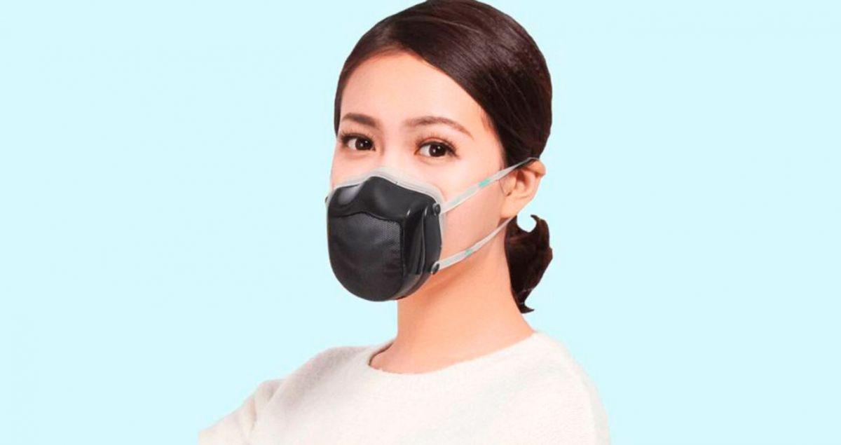 Reutilizable, con calidad de aire y barata: Así es la mascarilla electrónica Q7 Pro