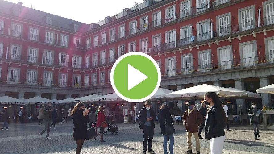 Madrid apuesta por un mercadillo navideño con restricciones, pero con terrazas abiertas