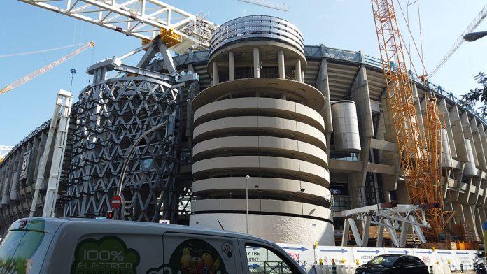 Bernabéu cubierta