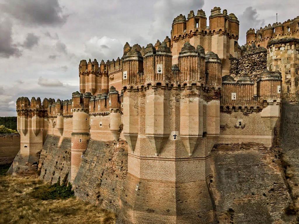 Castillo de Coca, Segovia, rutas medievales