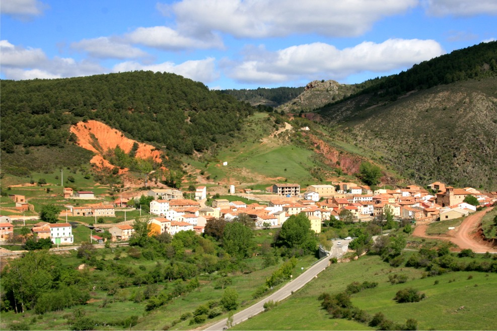 Nogueras de Albarracín, pueblos de España, trabajo