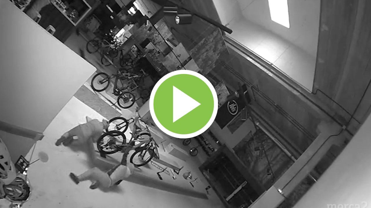Le desvalijan 700.000€ en bicicletas: