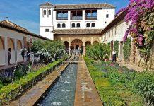 jardines de España, Generalife