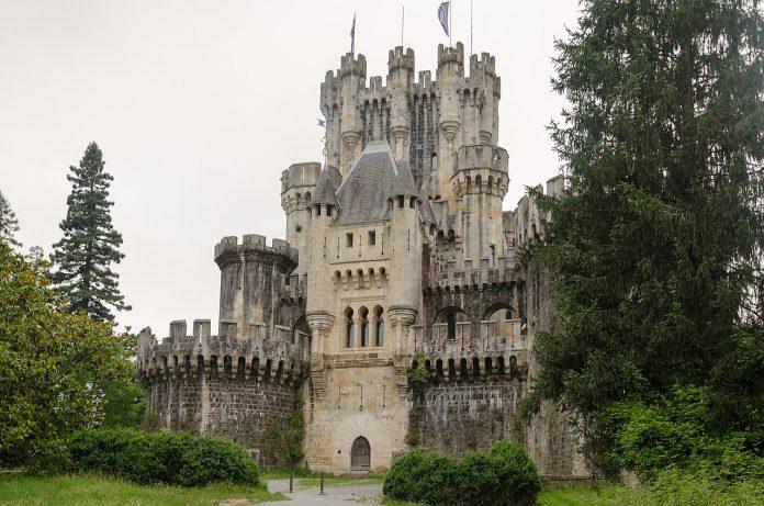 Castillo de Butrón, rutas medievales, castillos