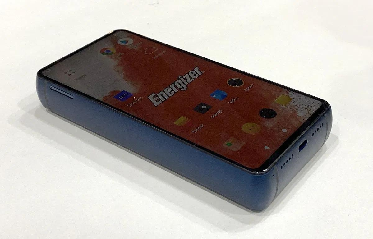 Energizer, móvil Android