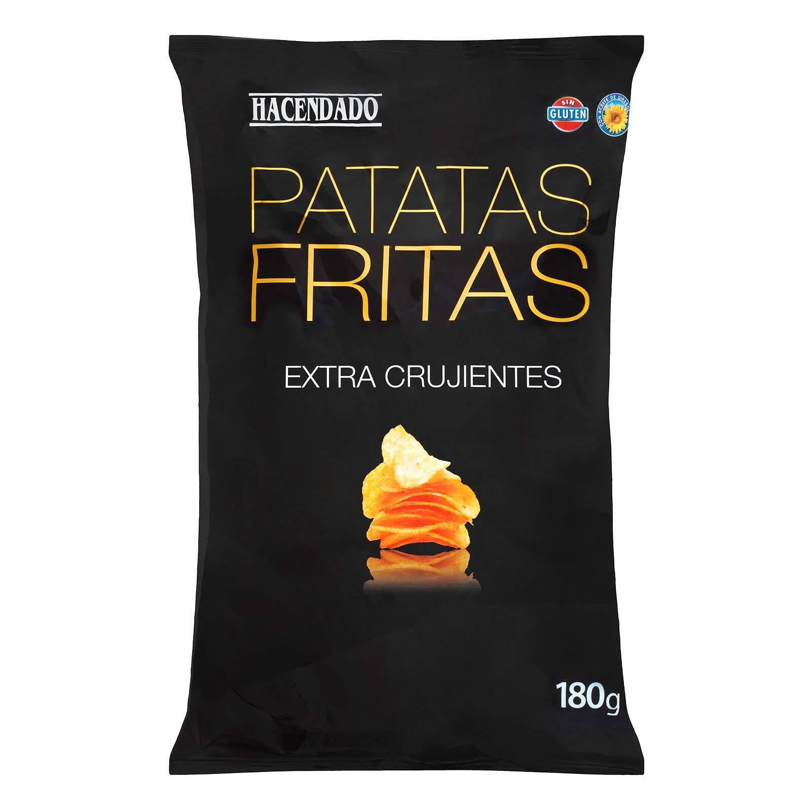 patatas fritas extra crujientes