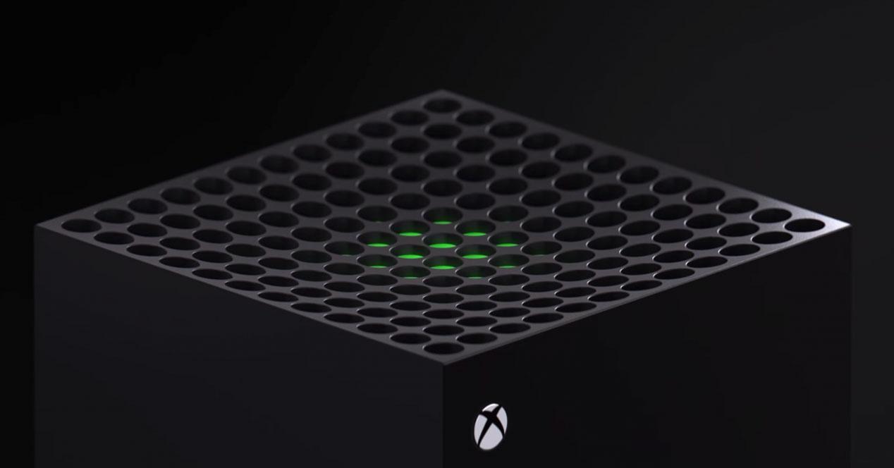 procesador de la xbox series x