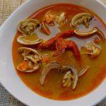 sopa de marisco y pescado - receta para navidad