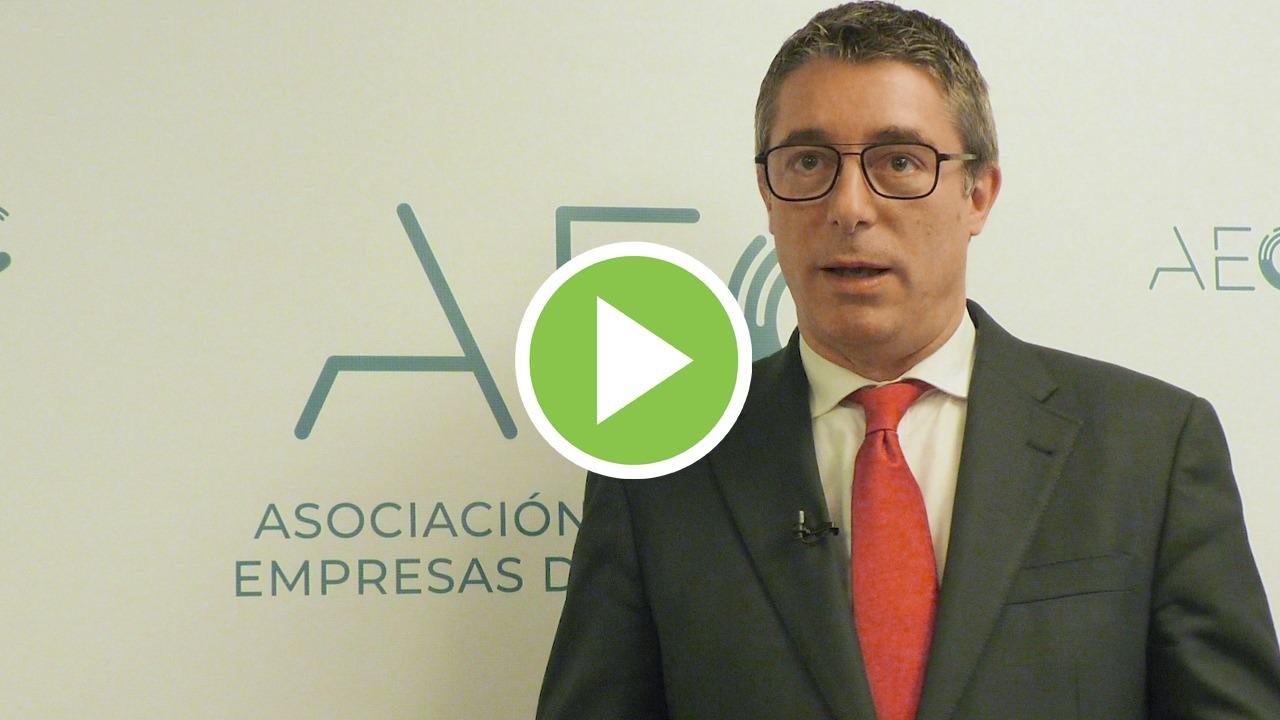 """Jordi Casals (AEC): """"La eficiencia y la digitalización son clave para ejecutar los fondos europeos"""""""