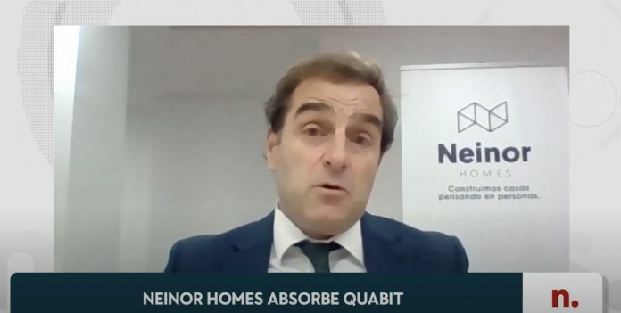 Borja García-Egotxeaga CEO de Neinor Homes.