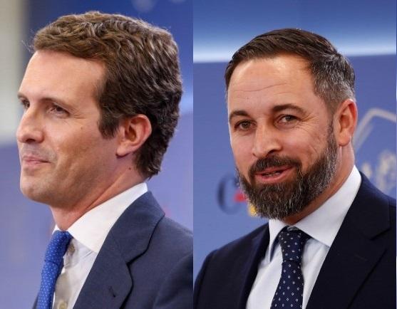 El PP endurece el discurso contra Vox por el miedo al 'sorpasso' en Cataluña