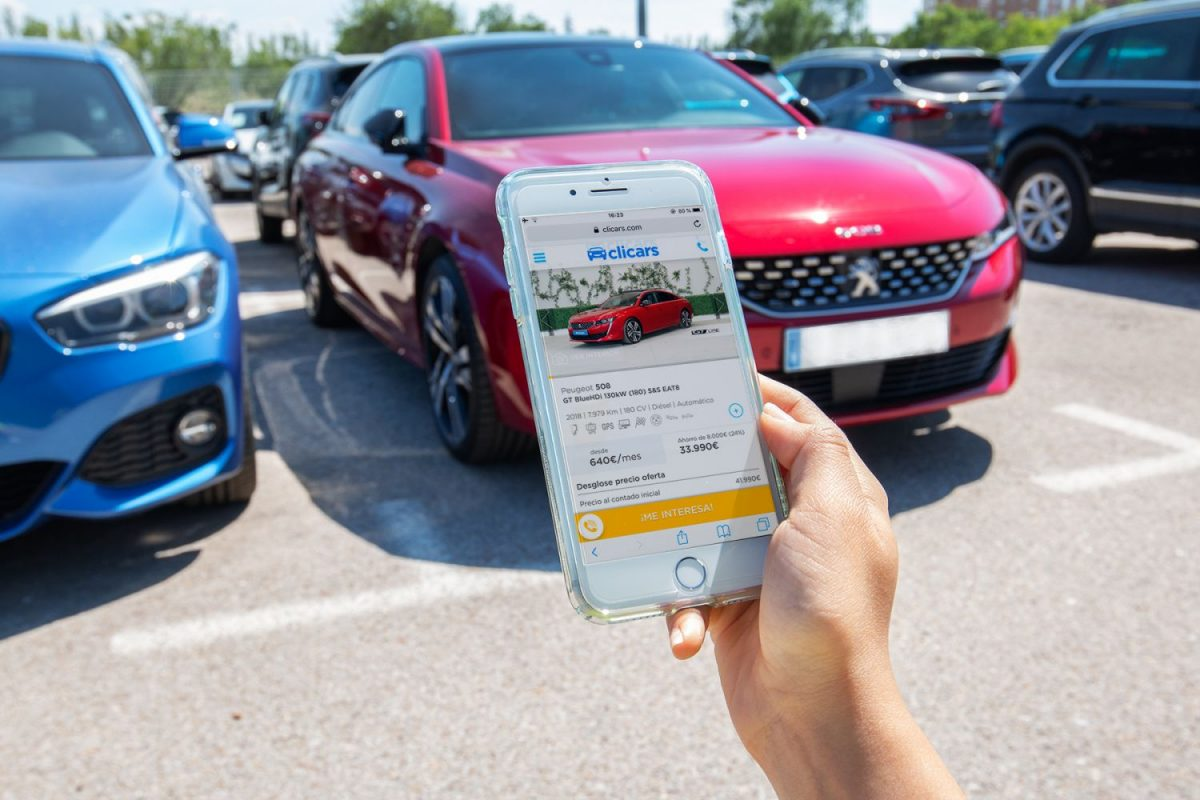 clicars venta coches de segunda mano online amazon de los coches pablo fernandez y carlos rivera ceo fundadores 1