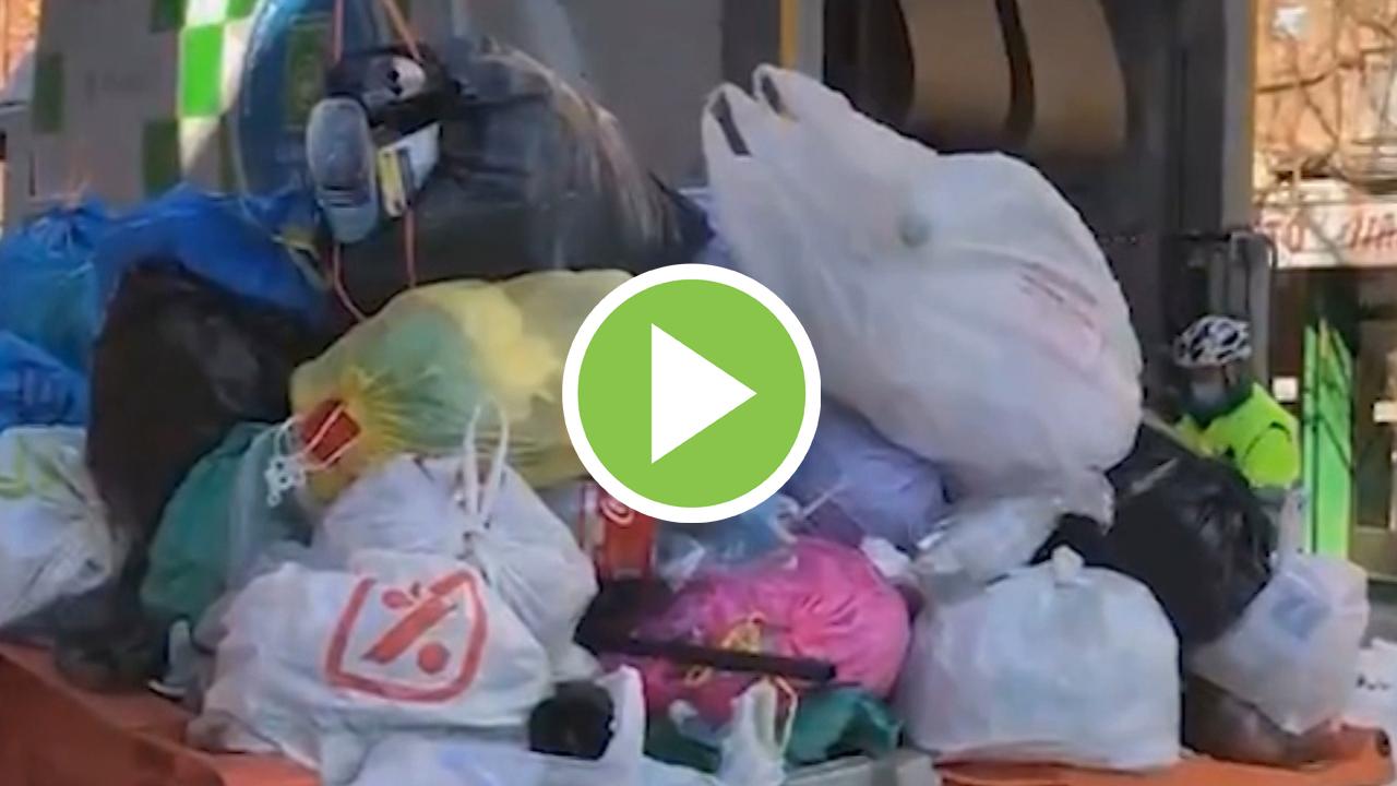 El servicio de recogida de residuos de Madrid ya funciona al 100%