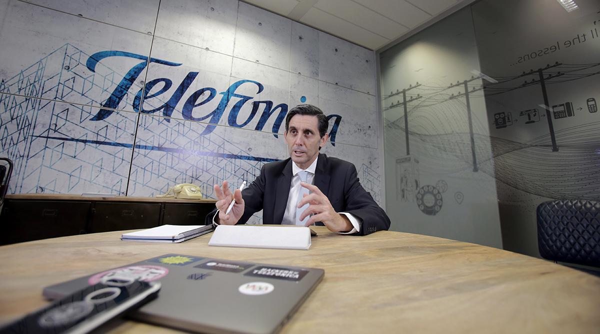 Telefónica gana casi un 40% más en 2020 y apuntala su división Tech