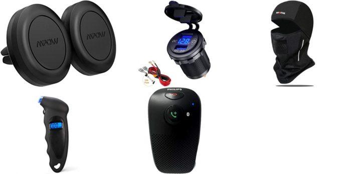 Amazon: accesorios asequibles coche y moto