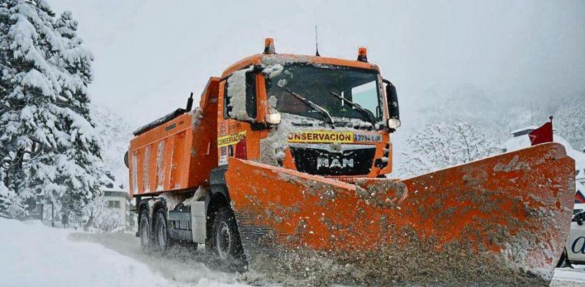 problemas del temporal de nieve para los autonomos