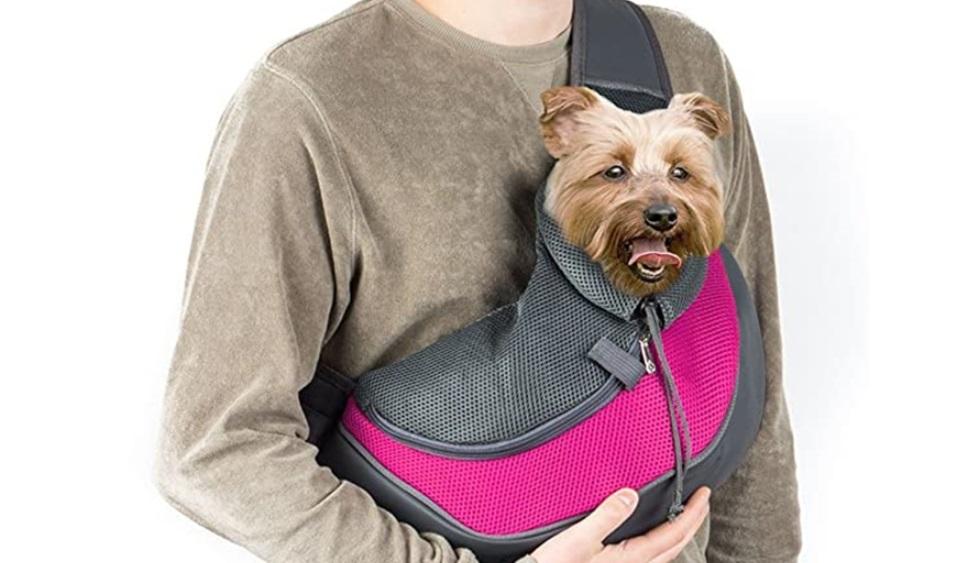 bolsa de viaje para cachorros