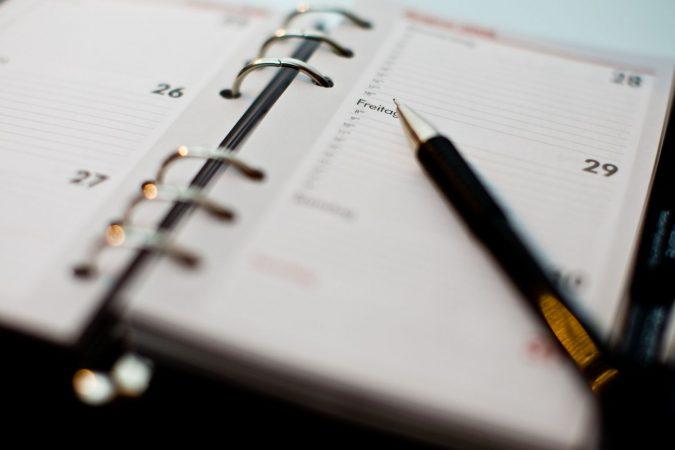 agendar calendario fiscal de 2021