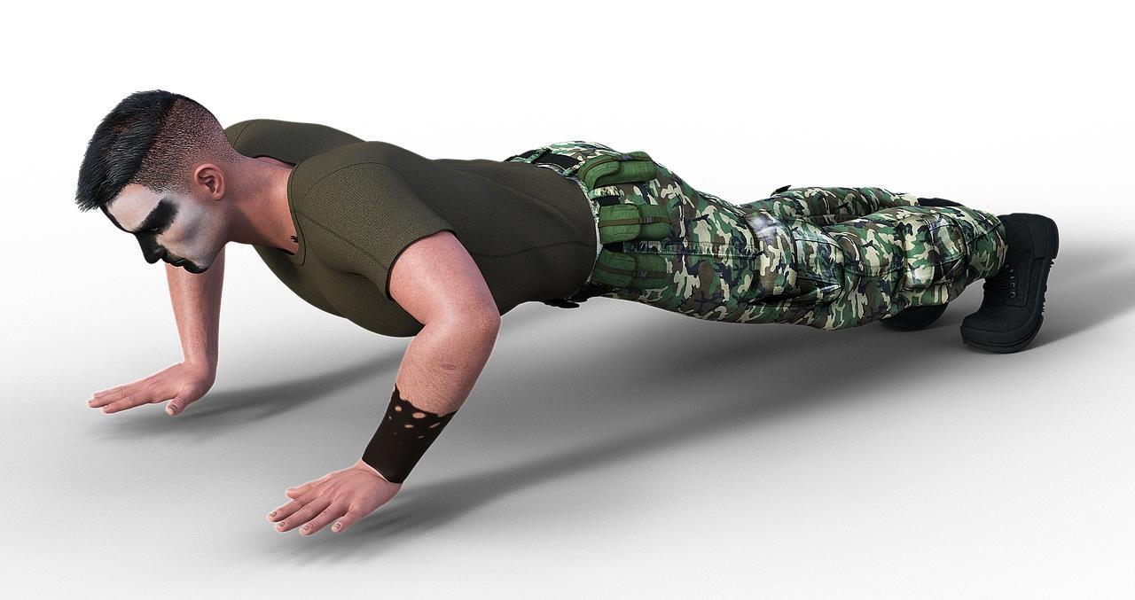 militar, ejercicio