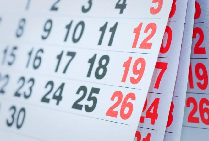 revisar calendario fiscal de 2021