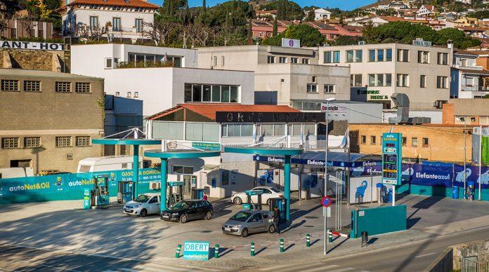 gasolineras automáticas