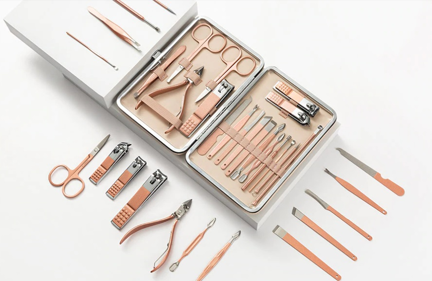 kit herramientas manicura