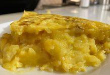 tortilla de patatas Dani García