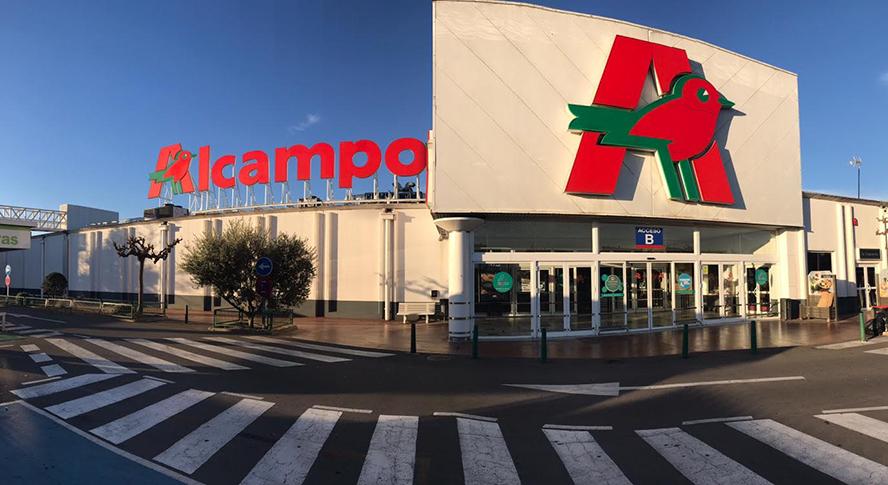 Alcampo se adelanta a Mercadona y Carrefour en la estrategia online