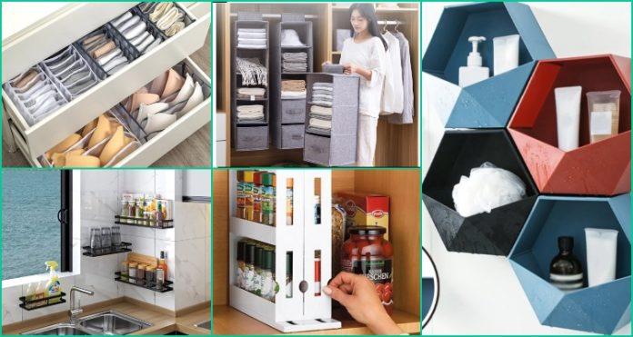 Aliexpress organizadores de armario, cocina y baño para sacar el máximo potencial a tu hogar