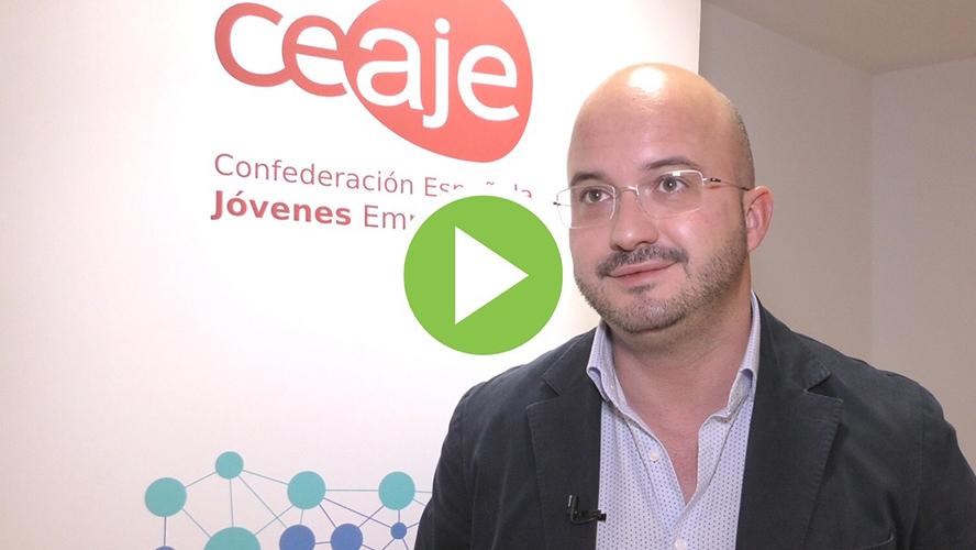 """Fermín Albadalejo (Ceaje): """"Los jóvenes empresarios han sabido remar hacia delante"""""""