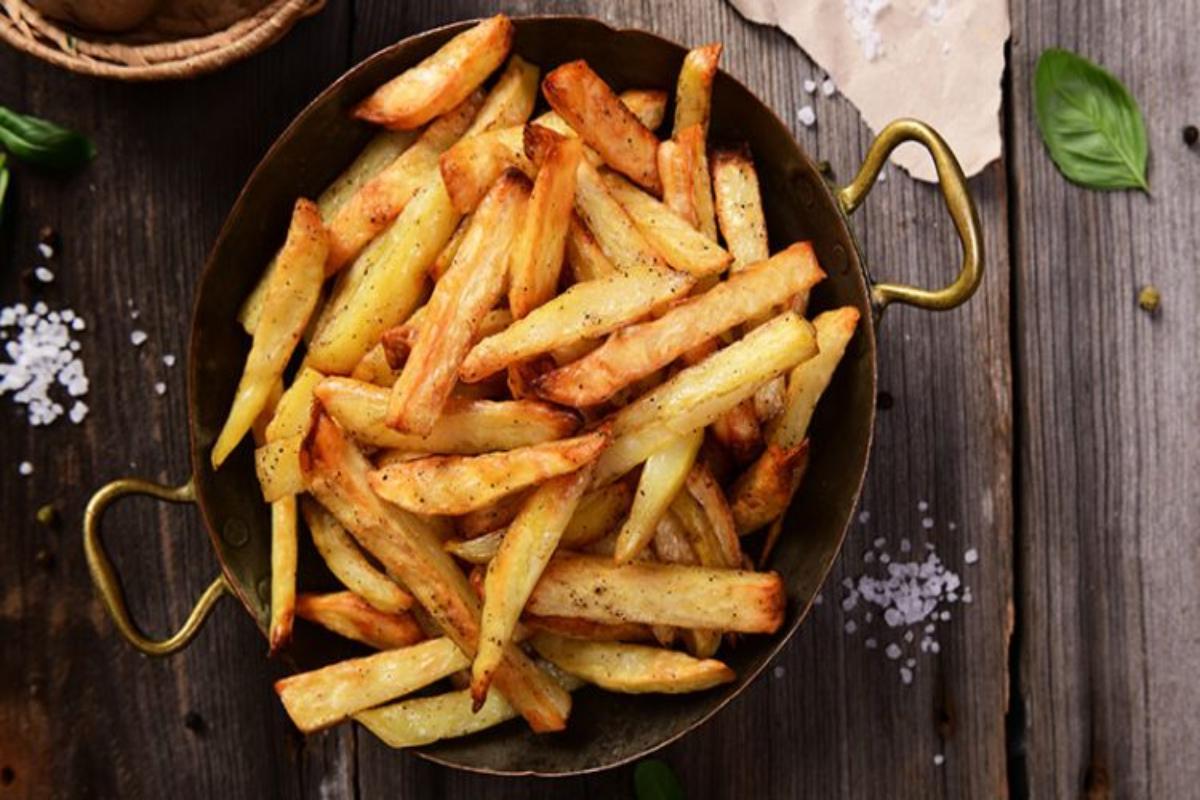 Cinco formas de comer patatas fritas sin engordar