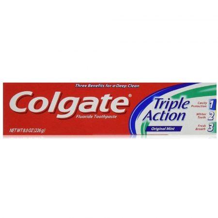 Pasta de dientes Colgate Triple Action