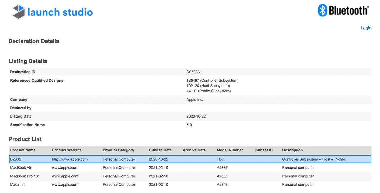 Apple patente B2002