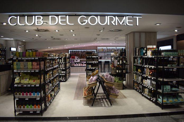 club del gourmet, edificio