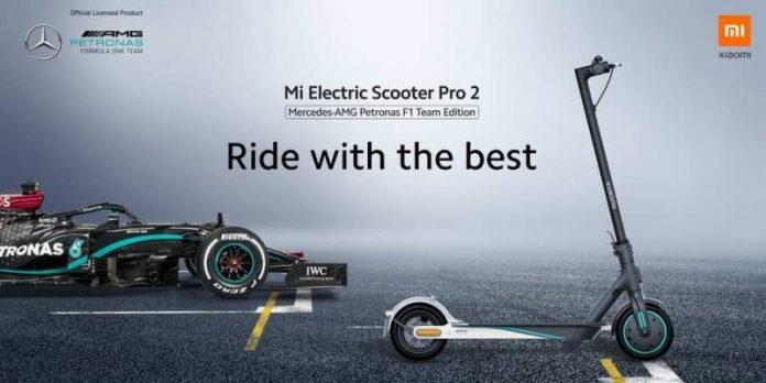 patinete eléctrico Xiaomi-Mercedes