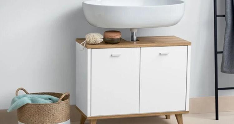 Mueble bajo lavabo  lidl