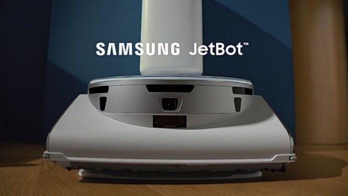 robot aspirador de Samsung