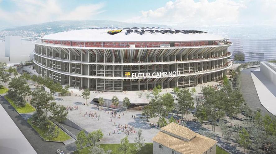 Acciona y FCC se juegan 400 M€ en las elecciones del Barça
