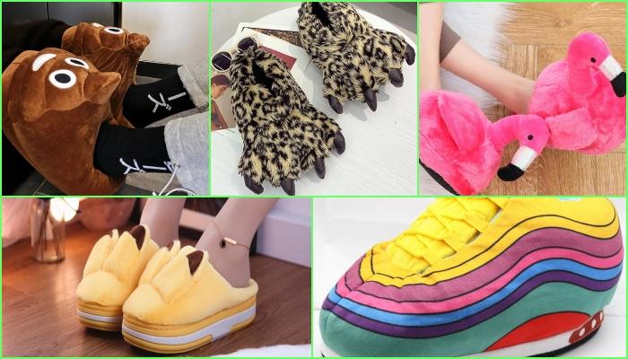 Aliexpress: zapatillas de estar por casa muy divertidas, originales y BARATAS