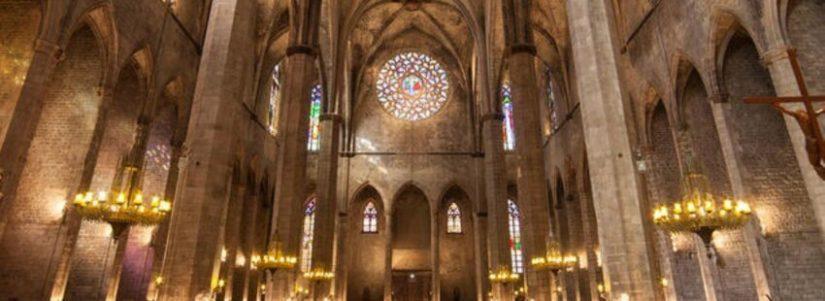 Monumento  Basílica De Santa María Del Mar Barcelona