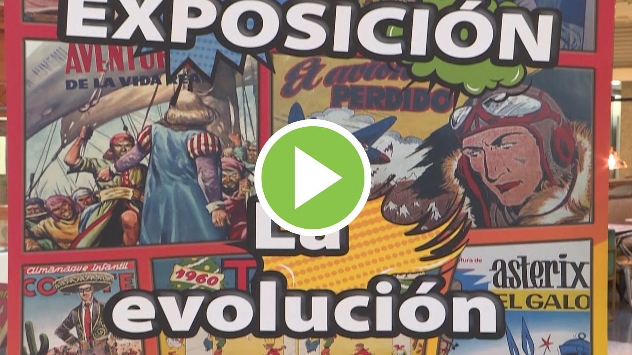 Una exposición en Madrid muestra la evolución del cómic en España